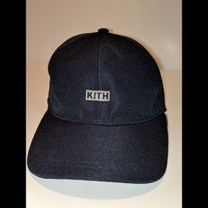 Kith Accessories - 🔥KITH🔥 Silver Classic Logo Navy Cap c11231ed90a0